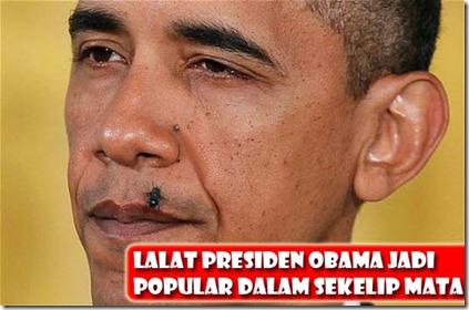 lalat kacau ucapan obama 1