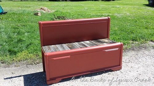 diy bed bench