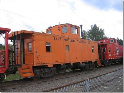 IMG_7682 East Portland Traction Company Caboose #11 at Oaks Park on July 15, 2007