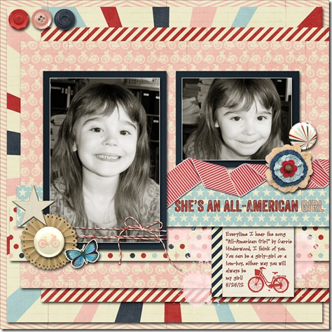 She's An All American Girl