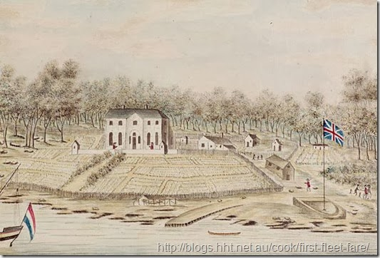 drawing of first government house