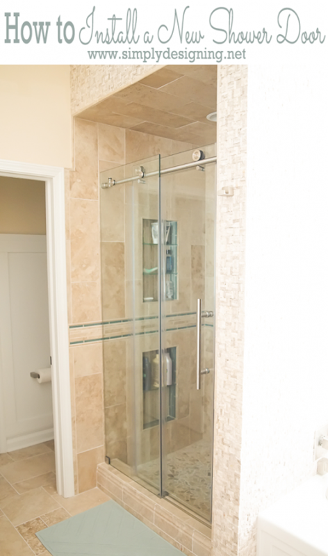 How-to-Install-a-New-Shower-Door-that-is-glass