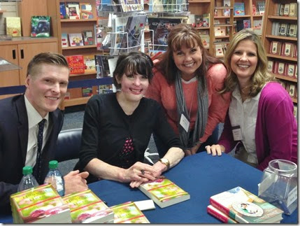 Book signing with Stephanie Nielson May 1 2014 BYU Womens Conference