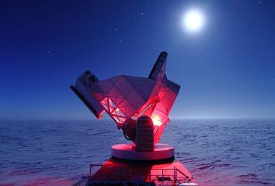 telescópio do Polo Sul