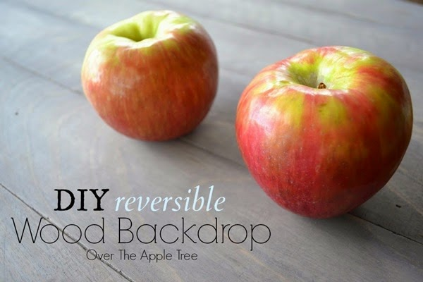 Over the Apple Tree Reversible Backdrop