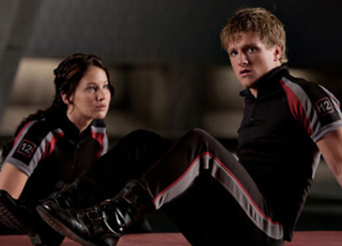 hunger games movie gale and peeta
