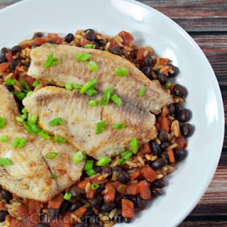 Southern Tilapia with Rice and Beans