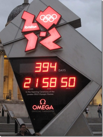 Countdown to the 2012 Olympic Games
