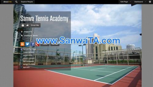 Sanwa Tennis Academy  singapore | about me