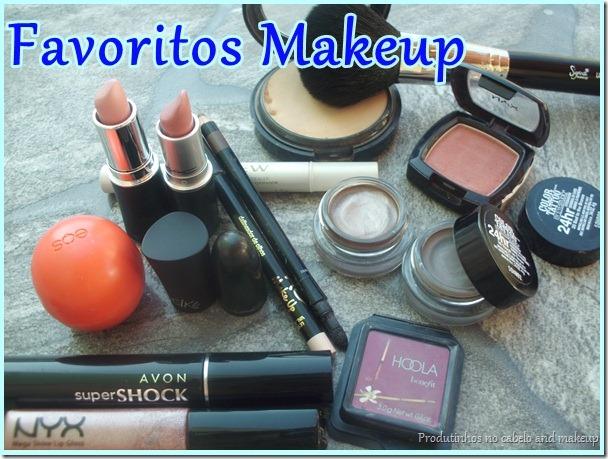 Favoritos de maquiagem