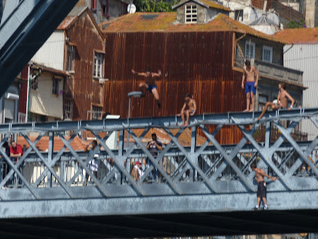 Things to do in Porto; jump in Douro river