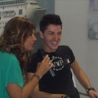 Giuseppe intervistato per un casting  dall'attrice Francesca Rettondini