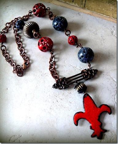 Fleur-de-Lis-necklace