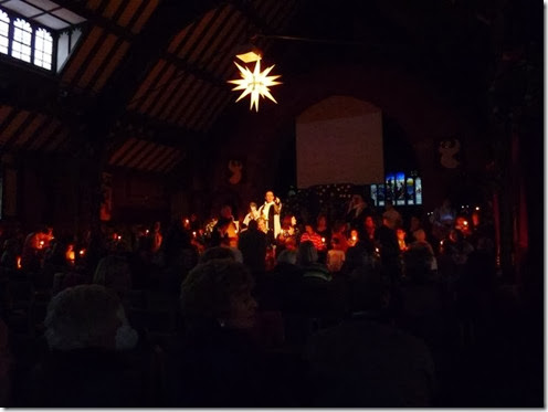 Carols By Candlelight a St Pauls Camberley