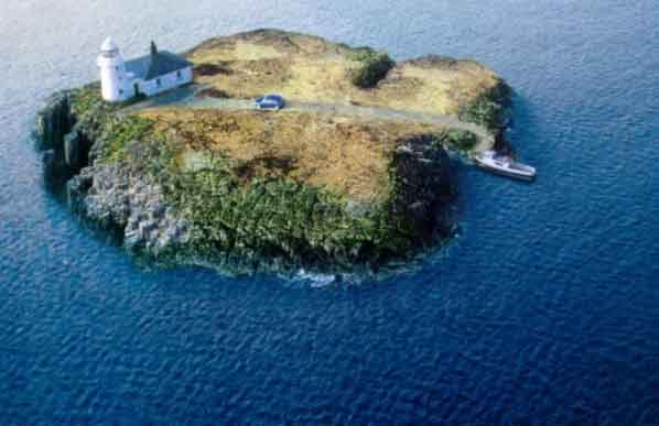 Irish Car on small island