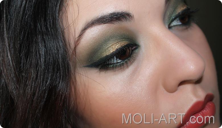 maquillaje-tonos-verdes-sombra-humid-mac