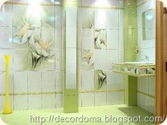 Керамическая плитка в декоре ванной