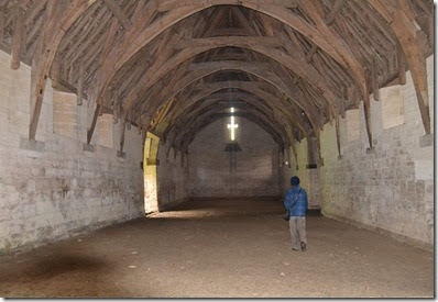 inside tithe barn 2
