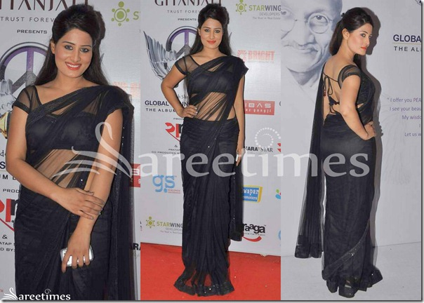 Black_Transparent_Saree