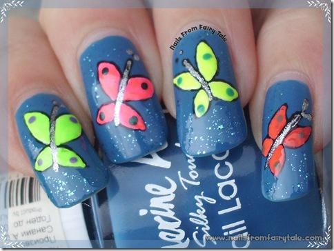 neon butterflies 4