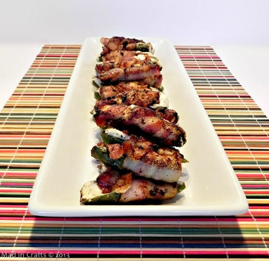 Grilled Bacon Jalapeno Poppers