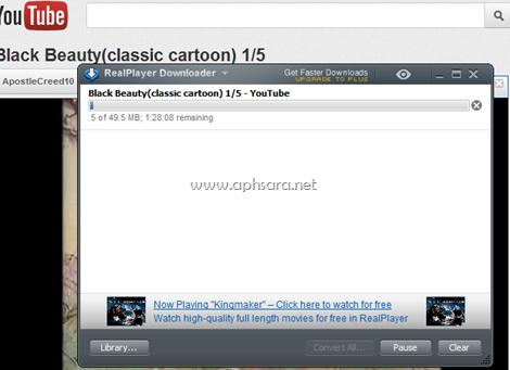การตั้งค่าให้สามารถดาวน์โหลดวีดีโอด้วย realplayer