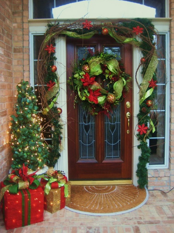 christmas doors decorating ideas door decorations christmas front door