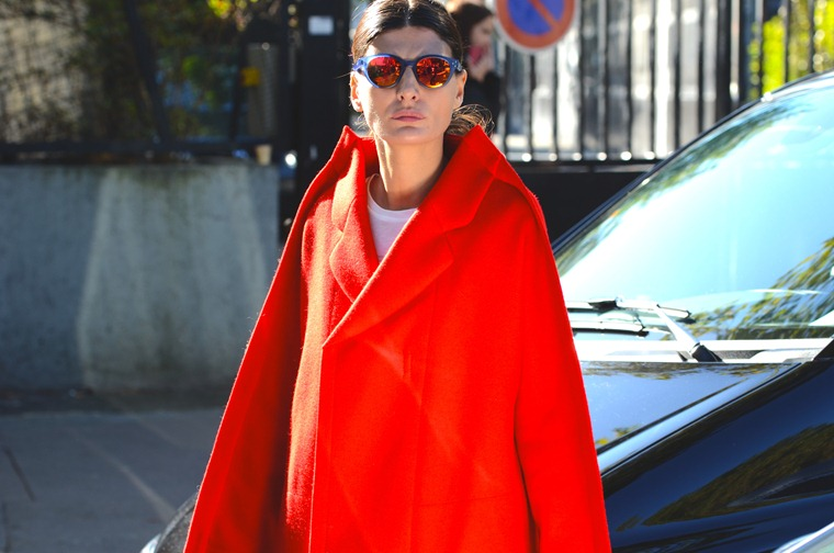 NobodyKnowsMarc.com Gianluca Senese Giovanna Battaglia paris fashion week street style kenzo