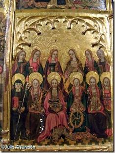Retablo de la Coronación de María - Museo Diocesano - Huesca (2)