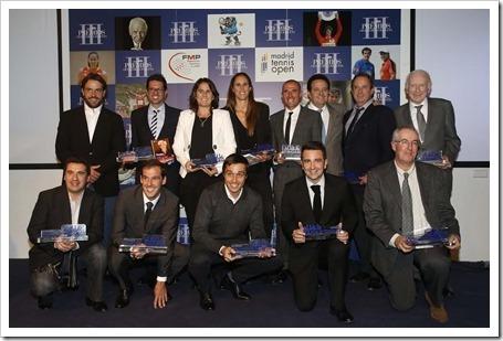 """Todos los premiados en la entrega de premios """"Ciudad de la Raqueta"""" 2015"""