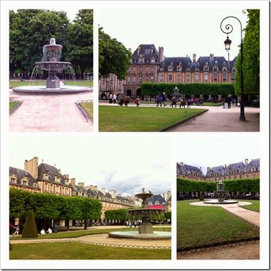 Place des Voges Picstitch