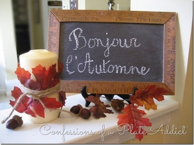 CONFESSIONS OF A PLATE ADDICT Autumn Greeting