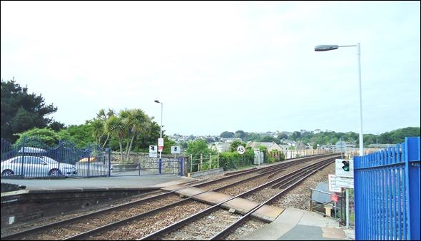 Hayle railway station.