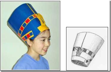 sombrero nefertiti