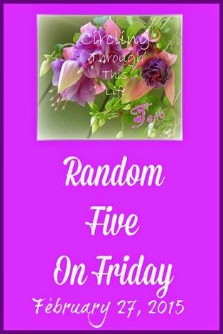 Random Five Circling February 27, 2015 Edition