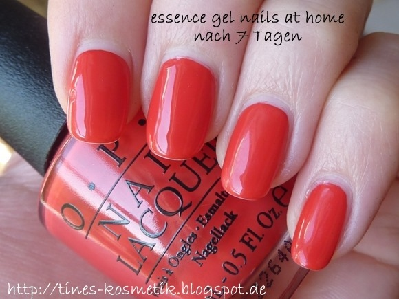 essence gel nails at home 7 Tage 1