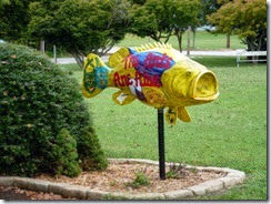 Fish at public library in RR
