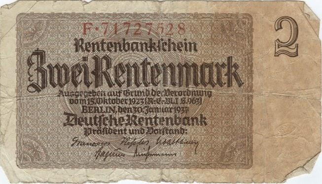 German Bank Note1