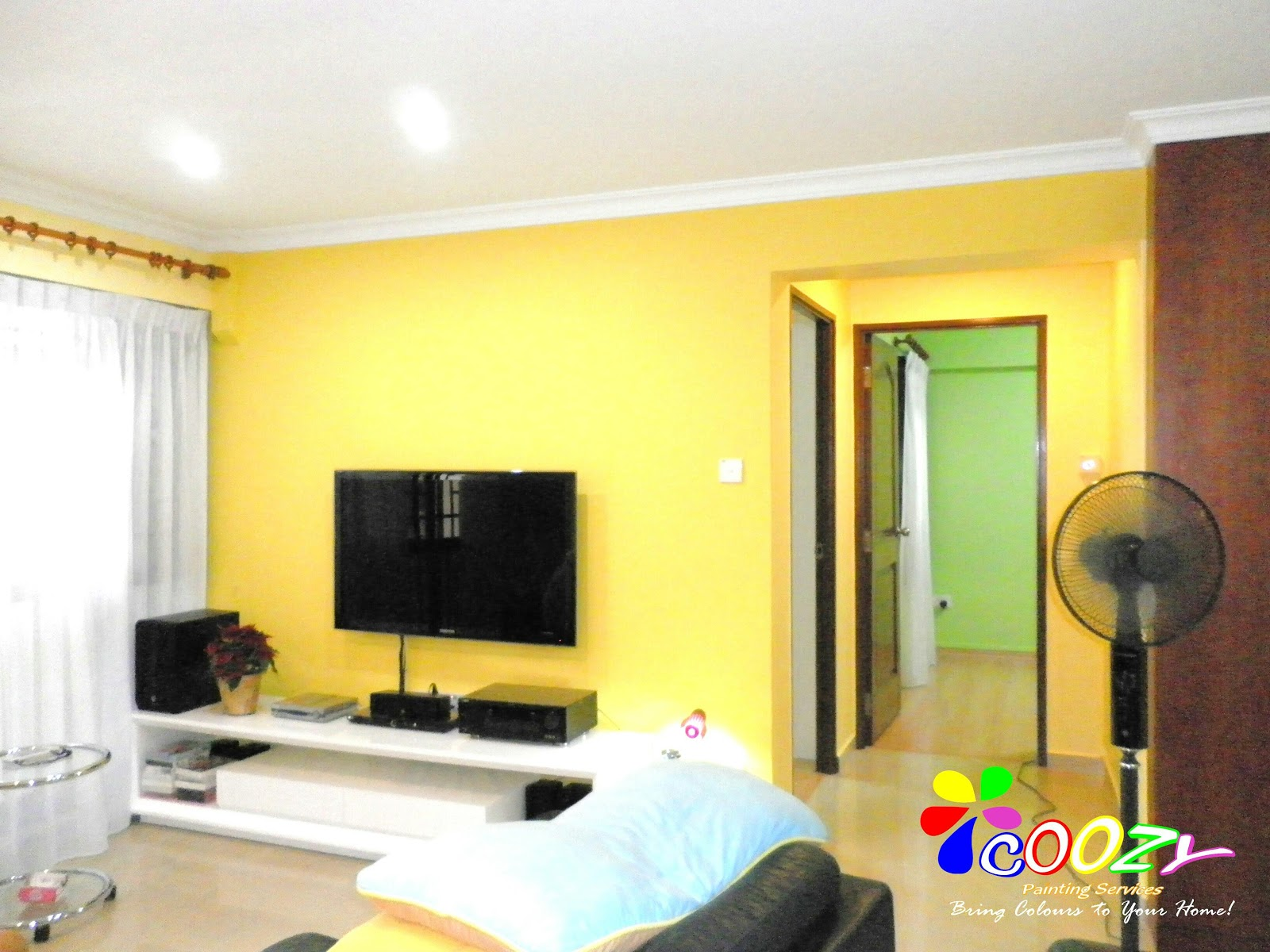 Coozy Painting Services -Painting Services Singapore