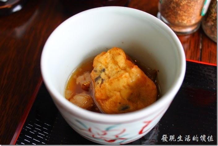 日本北九州-湯布院-彩岳館-早餐。再來是【天婦羅】。