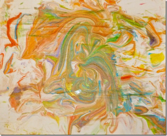 Marbleized Painting 5