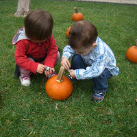 The Infants, Tiny Tots, and Toddlers On Campus Pumpkin Patch 10.20.11