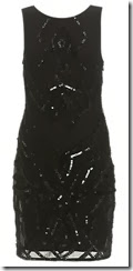 Ariela Sheri Sequin Shift Dress