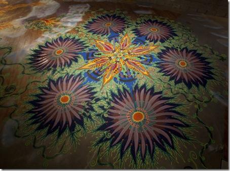 desene cu nisip colorat