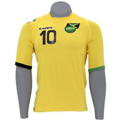 Comprar Camisa Original da Seleção da Jamaica