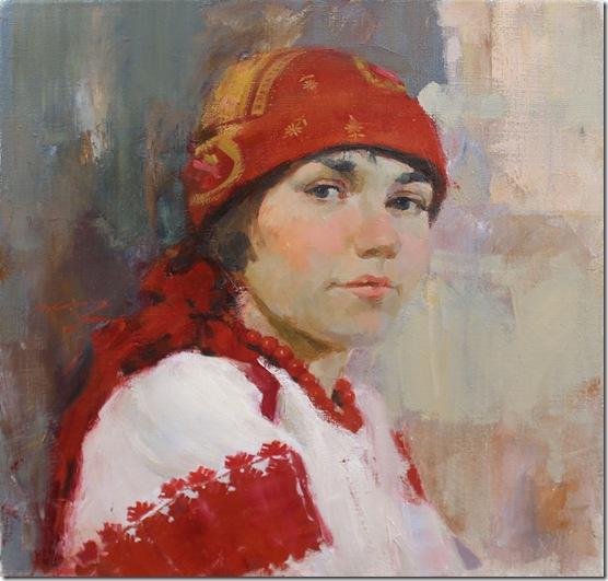Portrait of Diana-Vadim-Suvorov-ENKAUSTIKOS