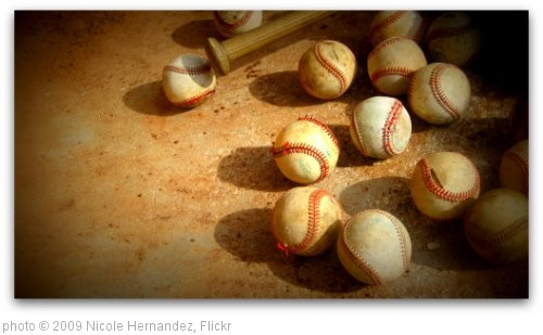 'Baseballs' photo (c) 2009, Nicole Hernandez - license: http://creativecommons.org/licenses/by/2.0/