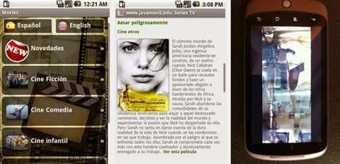Películas online desde Android