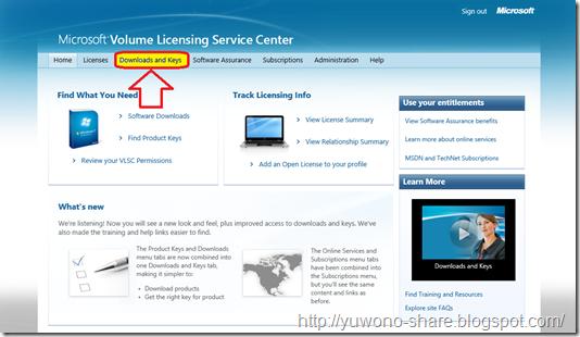 Microsoft Volume Licensing Service Centre 2