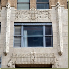 Philcade building detail